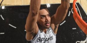 Trey Lyles dunk